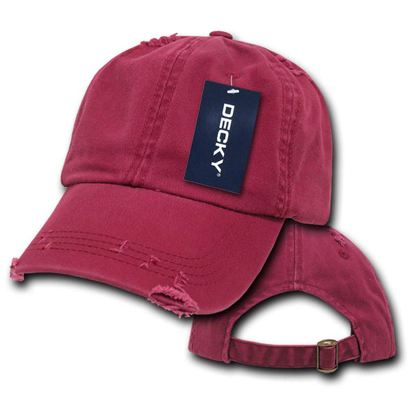 a8a21686f71 Decky Vintage Frayed Washed Vintage Worn Old Look Polo 6 Panel Dad Hat –  Casaba Shop
