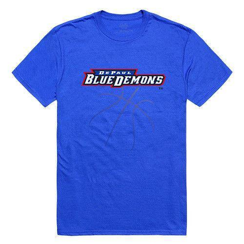 Depaul University Blue Demons NCAA Basketball Tee T-Shirt
