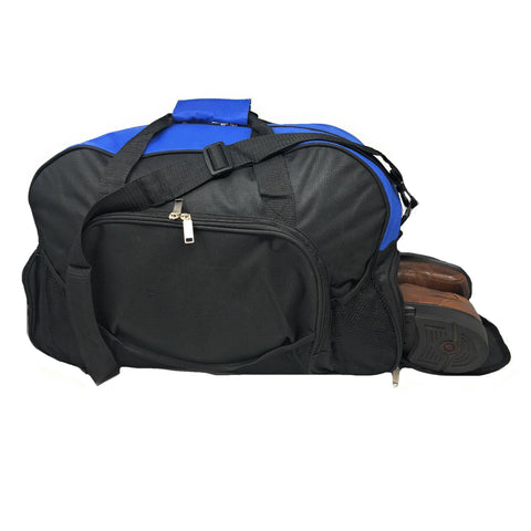 751621136049 21inch Duffle Bags W  Shoe Storage Pocket Travel Sport Gym Carry-On Luggage