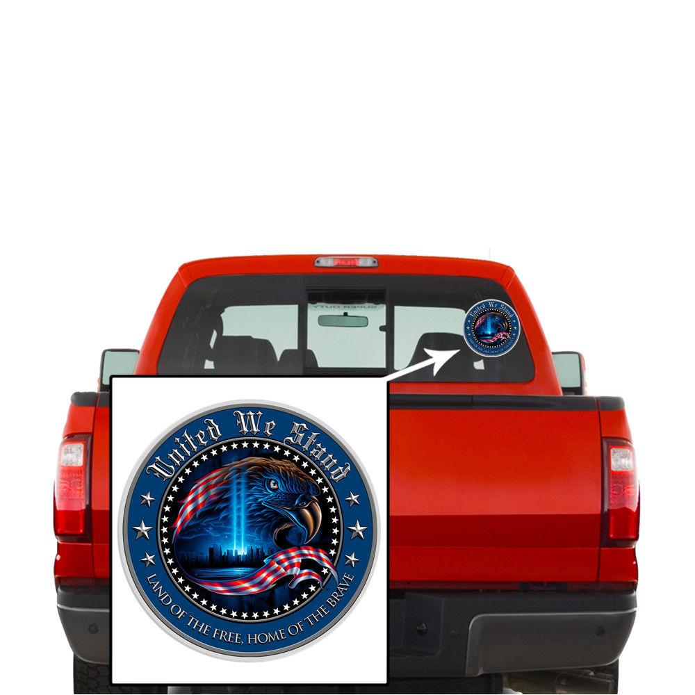 Erazor Bits Decal - Reflective Decal - United We Stand