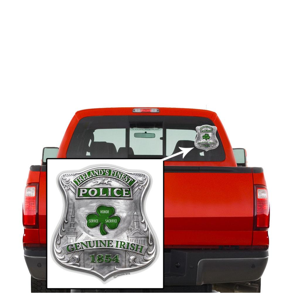 Erazor Bits Law Enforcement Ireland'S Finest Garda Reflective Decal