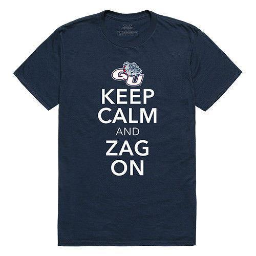 Gonzaga University Bulldogs NCAA Keep Calm T-Shirt
