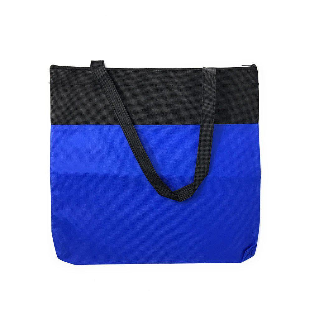 Large Reusable Grocery Shopping Totes Bags With Zipper Travel Sports Gym 16X15