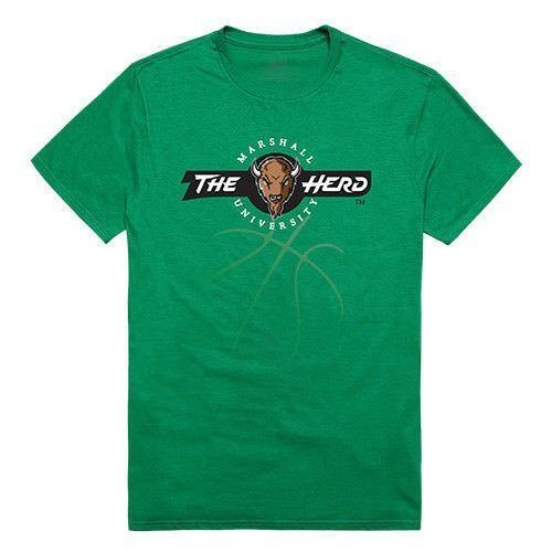 Marshall University Thundering Herd NCAA Basketball Tee T-Shirt