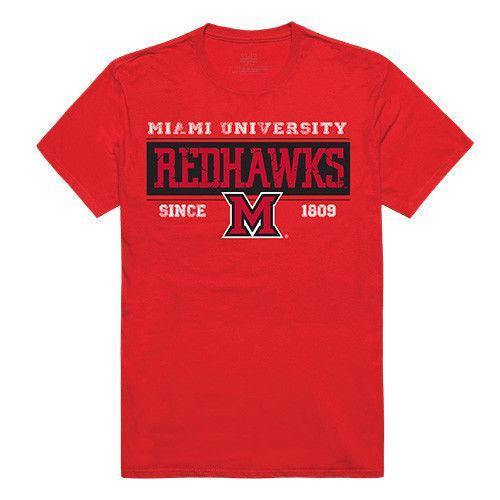Miami University Redhawks NCAA Established Tees T-Shirt