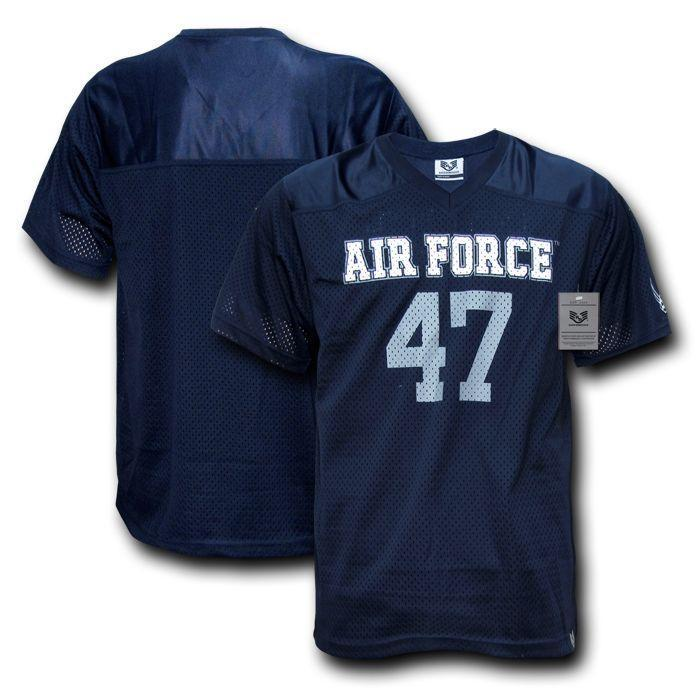 2ecd2abc1 Military Air Force Army Cg Navy Marines Sports Practice Baseball Football  Jersey