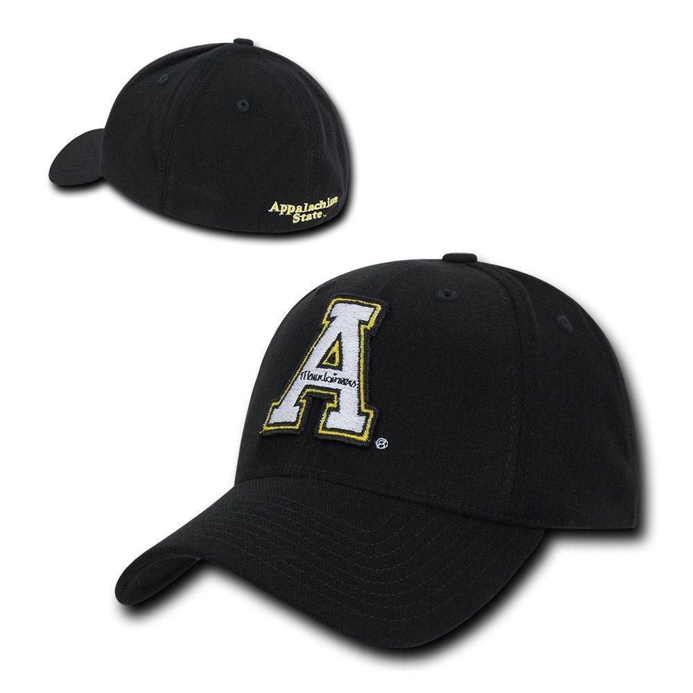 NCAA Appalachian State University Low Constructed Flex Acrylic Baseball Caps Hat