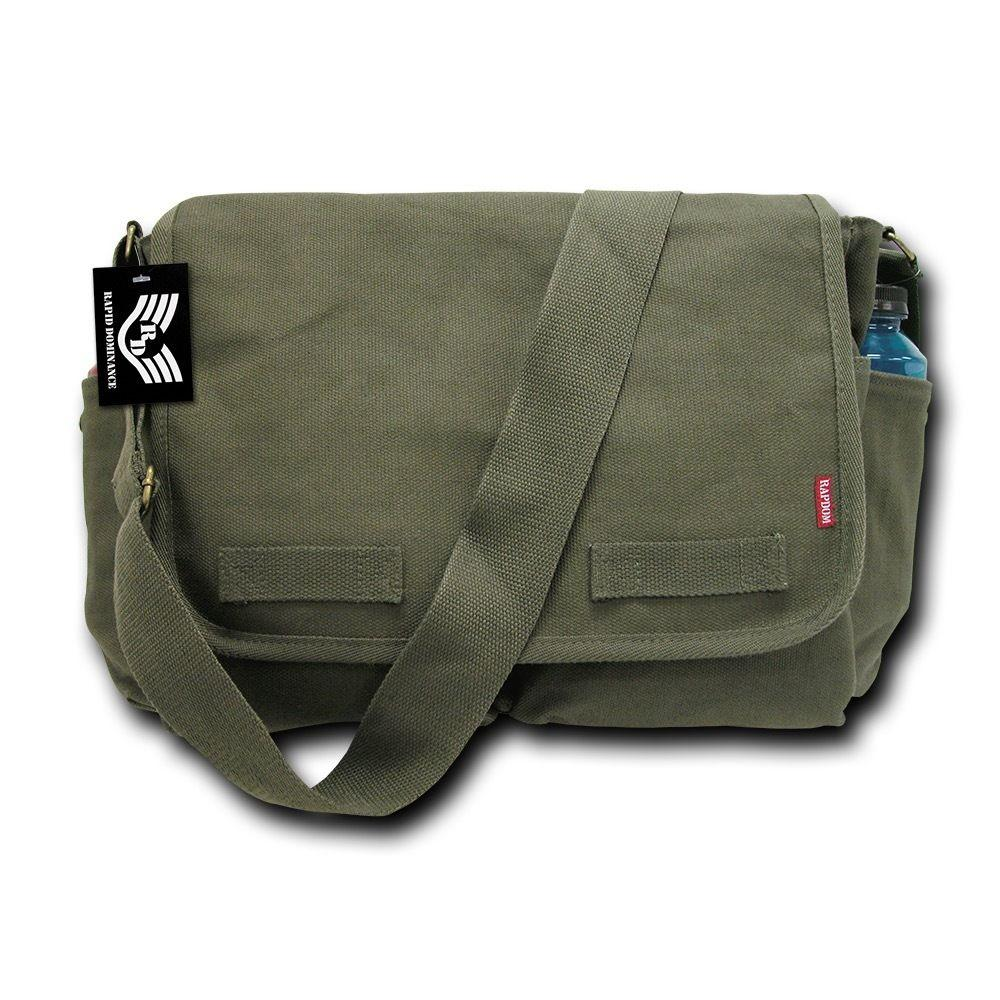 Rapid Dominance Durable Cotton Canvas Classic Military Shoulder Messenger Bags