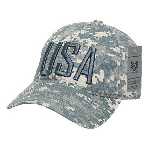 79014ba1b18 Rapid Dominance Relaxed 6 Panel Ripstop USA American Flag Dad Hats Caps