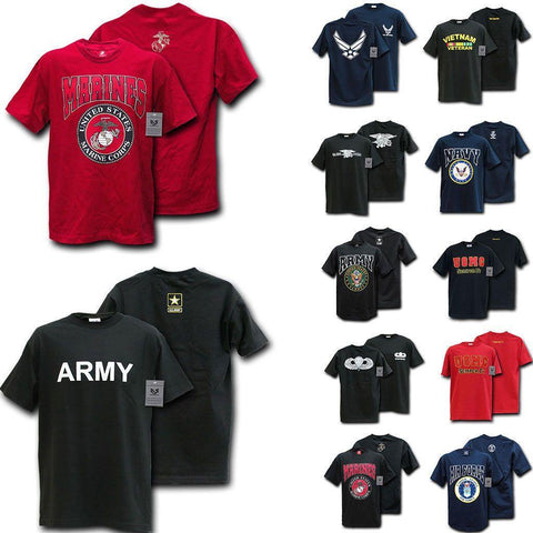 b438c5243 Rapid Dominance Military Air Force Marine Navy Army Law Enforcement T-Shirts  Tees
