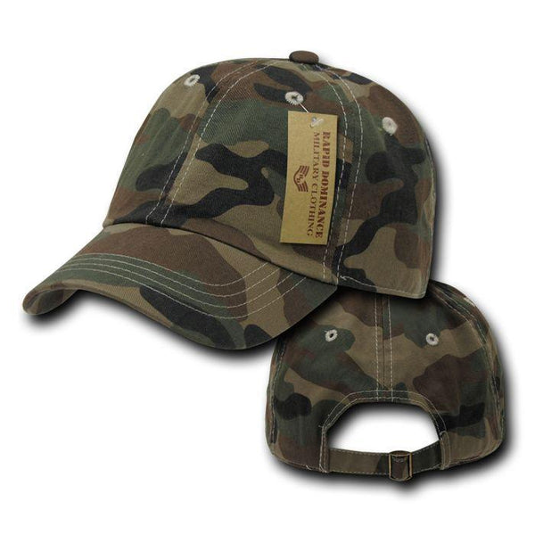 19a744def Rapid Dominance Relaxed Cotton Military Vintage Washed Polo Camo Camouflage  Baseball Hats Caps!