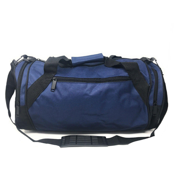 6f3a1f233756 Roll Round 18 Inch Duffle Bag Bags Two Tone Travel Sports Gym Carry-On –  Casaba Shop