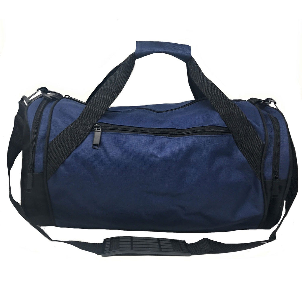 Roll Round 18 Inch Duffle Bags Two Tone Travel Sports Gym Carry-On Luggage