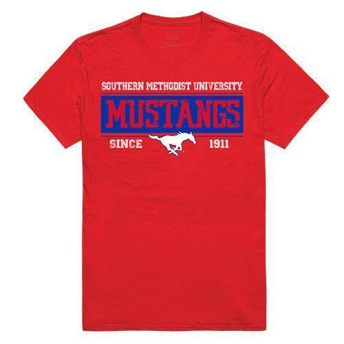 Southern Methodist University Mustangs NCAA Established Tees T-Shirt