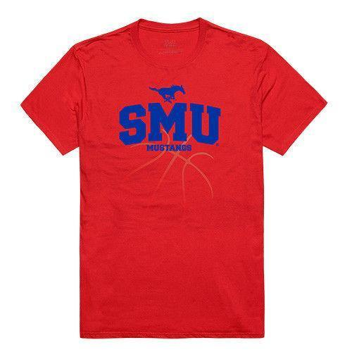 Southern Methodist University_ Mustangs NCAA Basketball Tee T-Shirt