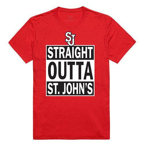 St. John'S University Red Storm NCAA Straight Outta T-Shirt