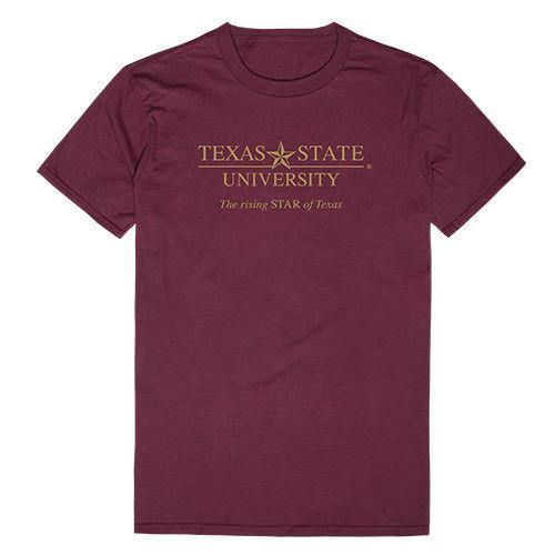 Texas State University Boko The Bobcat NCAA Institutional Tee T-Shirt