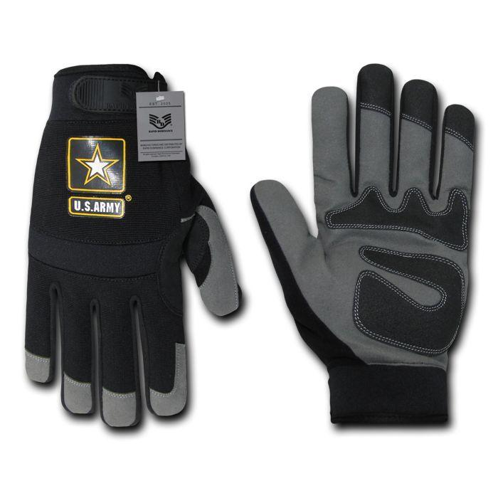 US Army High Performance Mechanics Work Tactical Gloves