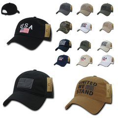 USA American Flag United We Stand Gadsden Baseball Dad Caps Hats Cotton Polo 5016ffa45a0e