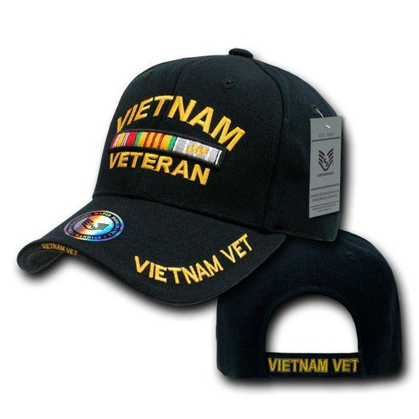 Rapid Dominance USA Veteran Military Army Air Force Navy Marines Coast  Guard Baseball Hats Caps