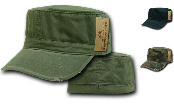 07e002b02ac Vintage Bdu Fatigue Distressed Cadet Patrol Military Army Fitted Caps –  Casaba Shop