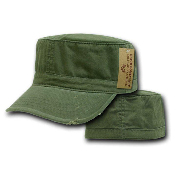 84d04814a15 Vintage Bdu Fatigue Distressed Cadet Patrol Military Army Fitted Caps –  Casaba Shop