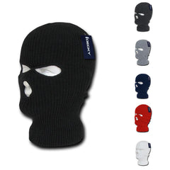 ae29ada3443 Decky Warm Winter Balaclava 3 Hole Face Masks Beanies Ski Motorcycle Biker  Tactical