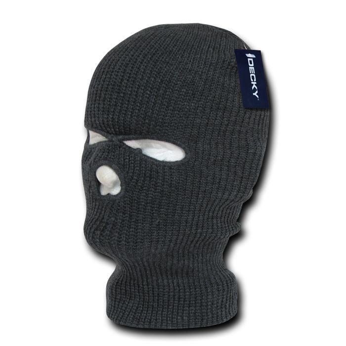 Decky Warm Winter Balaclava 3 Hole Face Masks Beanies Ski Motorcycle Biker Tactical