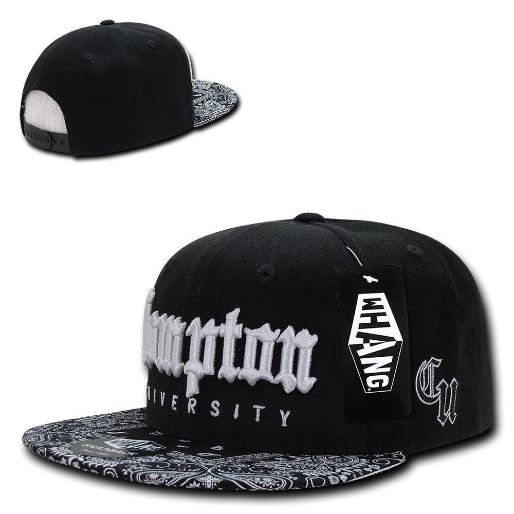 Whang Compton University Snapback Baseball Caps Hats