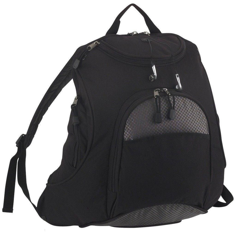 Work School Backpack Travel Bag Multi Pockets Padded Back And Straps