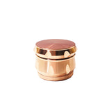 Large rose gold grinder