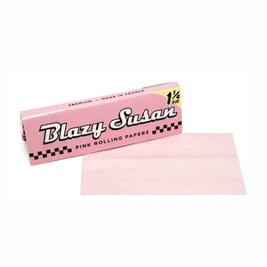 "Blazy Susan regular 1.25"" pink rolling papers"