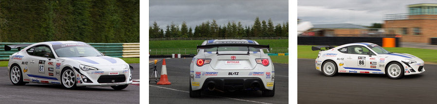 Fensport GT86R - Toyota Sprint Series - Croft Circuit 16th September 2012