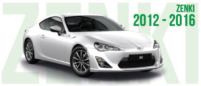GT86 2012 to 2016