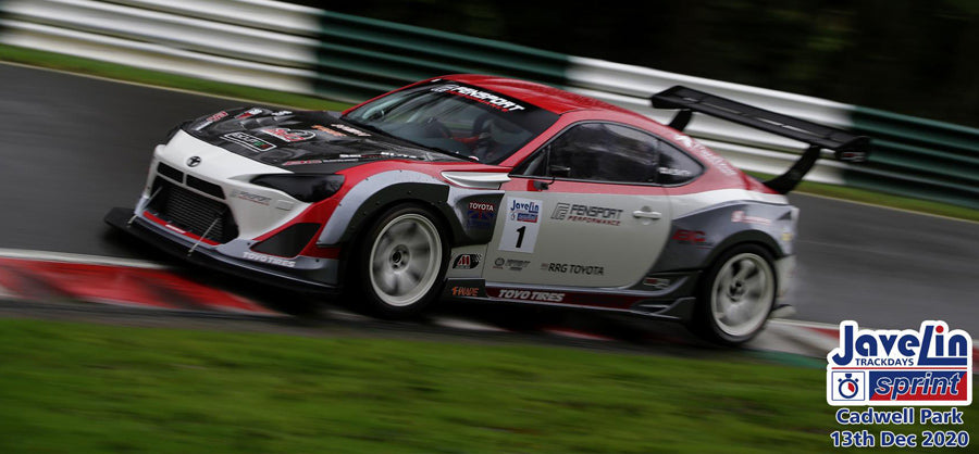 GT86R at Cadwell Rally sprint - wet