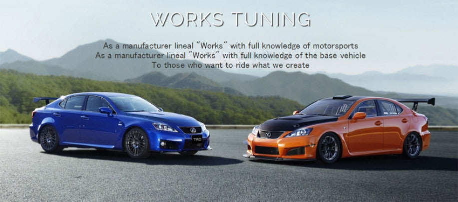 TRD Lexus sports and race development
