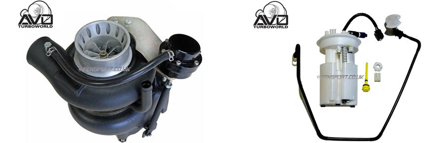 Avo stage 5 turbo & Avo high capacity fuel pump assembly