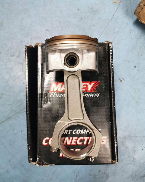 manley turbo tuff conrods on stock pistons fa20