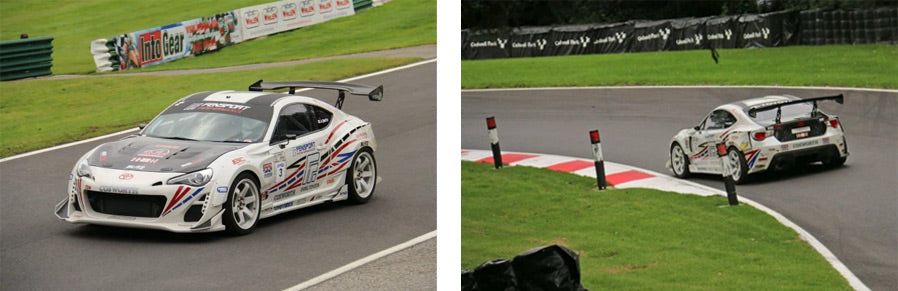 GT86R at Cadwell Park