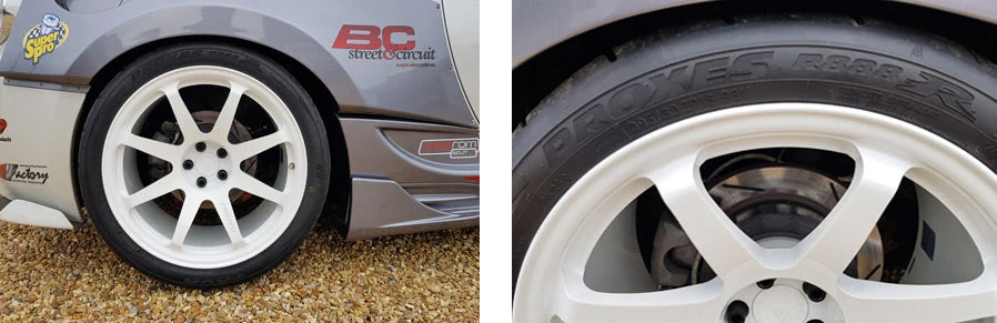 BC Racing RT53 forged alloys with Toyo R888R Tyres