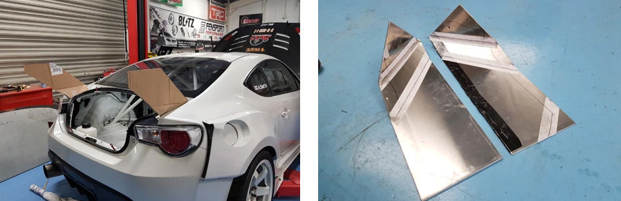 GT86R 2018 Rear wing templates