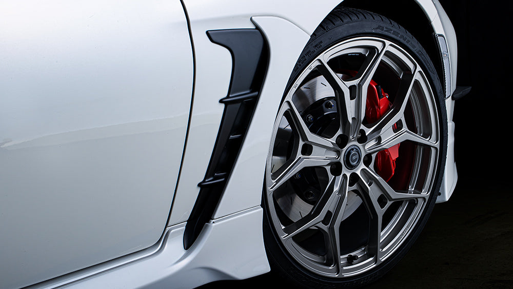 GR Parts GR86 19 inch forged alloy wheels