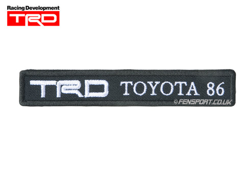 TRD Toyota 86 - Sew On Badge