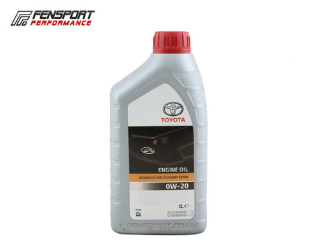 Genuine Toyota - Engine Oil - 0W-20 AFE - 1 Litre