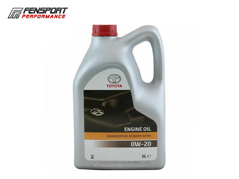 Genuine Toyota - Engine Oil - 0W-20 AFE - 5 Litre