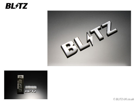 Blitz Racing Chrome Emblem - 13862