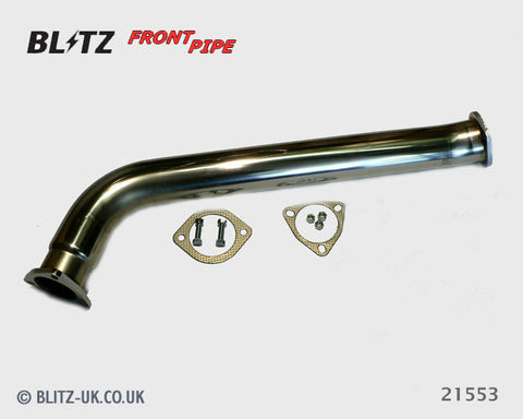Blitz Exhaust Front Pipe - 21553 - Skyline GTS, R33, RB25DET