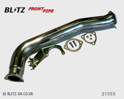 Blitz Exhaust Front Pipe - 21555 - Skyline GTS, R32, RB20DET
