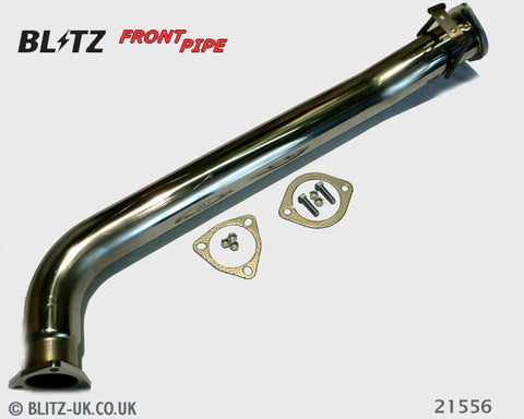 Blitz Exhaust Front Pipe - 21556 - Skyline GTT, R34, RB25DET