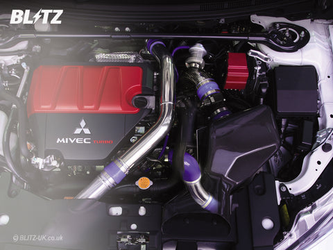 Air Intake - Blitz Suction Kit - 55700 - Evo X, Evo10